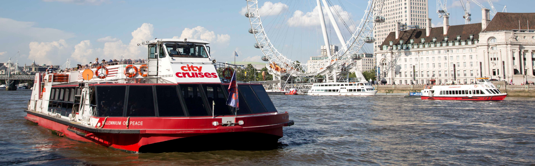 top cruises around london